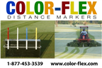 Color-Flex Distance Markers
